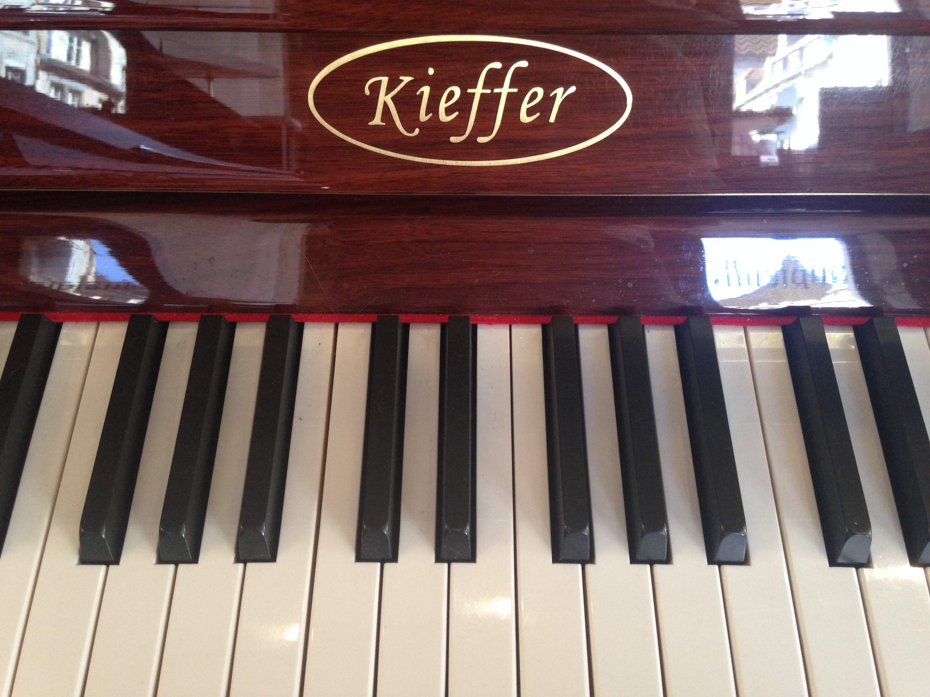 piano d 39 occasion kieffer 120 bietry musique. Black Bedroom Furniture Sets. Home Design Ideas